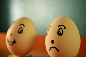 pixa sad happy eggs